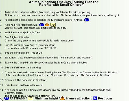 Animal Kingdom Touring Plan (c)TouringPlans.com
